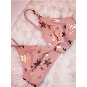 PINK Victoria's Secret Rose Gold Bralette✨SMALL